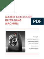 Market Analysis of Ifb Washing Machines