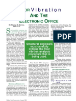 Floor Vibration and the Electronic Office - Thomas Murray