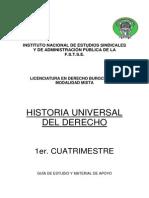 Historia Universal Del Derecho