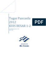 Tugas Pancasila 2012 KUIS BESAR 1-2