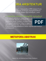 METAFORA ARSITEKTUR