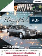 TexasDrive Magazine Dec.21-Jan.10, 2009 Issue