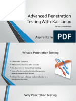 Advanced Penetration Testing With Kali Linux
