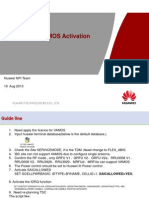 2G VAMOS Activation –Guide Line