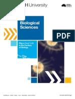 Monash Science Biological Sciences Brochure 2015