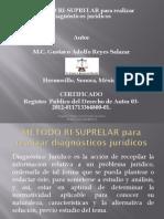 MÉTODO RI-SUPRELAR para realizar diagnósticos jurídicos.pdf