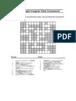 Past Simple Crossword.doc
