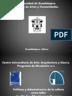 1.- Encuadre Politicas culturales Guadalajara 2014 A.ppt