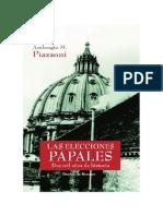 PIAZZONI, A. M. - Las elecciones papales. Dos mil años de historia - Desclee de Brouwer, 2005.pdf