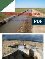 DISEÑO DE CANALES DE RIEGO OCTUBRE 2012.ppt