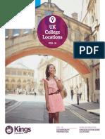Kings UK Uni Pathways CollegeLocations 2015 16
