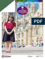Kings UK Uni Pathways Alumni 2015 16