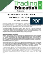 intermarket analysis of forex markets