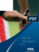 Laws of the Game En