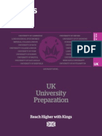 Kings UK Uni Pathways 2015 16