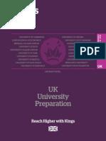 Kings UK Uni Pathways 2015 16