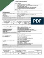 MASA Members Institute Details 2014-15 V2