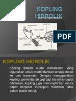 Kopling hidrolik