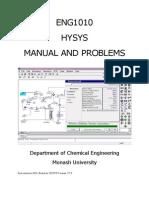 Hysys Manual
