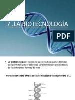 LA BIOTECNOLOGÍA.ppsx