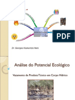 Análise do Potencial Ecológico