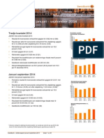 Swedbanks delårsrapport kvartal 3 2014