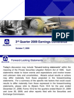 Alcoa 3Q09 Earnings Presentation