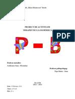 Proiect Sunetele P-B