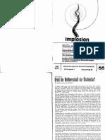 Implosion - Heft 056 - (1974) Schauberger - Biotechnische Schriftenreihe
