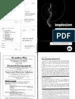 Implosion - Heft 061 - (1976) Schauberger - Biotechnische Nachrichten