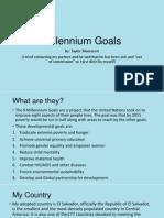 millenniam goals