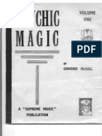 Ormond Mcgill Psychic Magic Vol 1