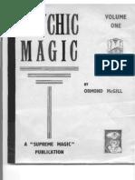 Ormond Mcgill Psychic Magic Vol 1