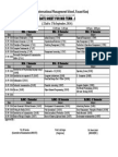 Revised Date Sheet (MT-I)
