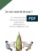 Bt Brinjal and Alternatives 2.0