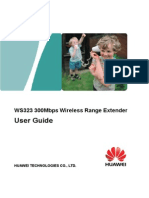 WS323 300Mbps Wireless Range Extender User Guide WS323 02 English Channel