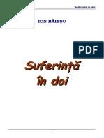 Ion Baiesu - Suferinta in Doi