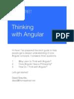 Thinking With Angular