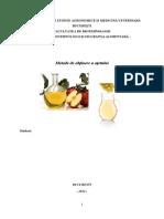 Tehnologia Otetului-proiect Procese Si Utilaje in Industria Alimentara