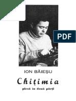 Ion Baiesu - Chitimia [v. 1.0]