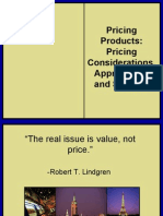 Pricing Products