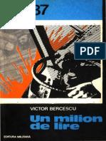 Bercescu, Victor – Un Milion de Lire