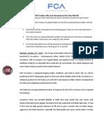 Fiat Avventura press release