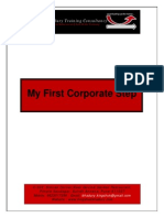 Campus to Corporate- My First Corporate Step-KB