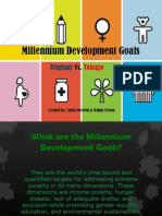 mellenial development goals powerpoint