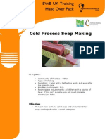 Cold Process Soap Making