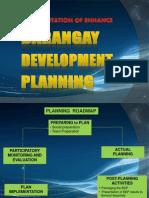 Barangay Development Plan, Presentation