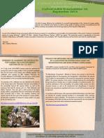 Newsletter 10, September 2014