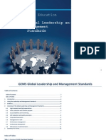 gems global leadership and management standards evidence sources per standard