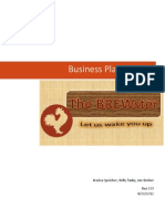 Coffee Shop Business Plan Project